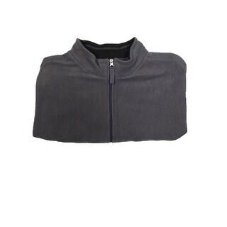 Club Room Men's Full-Zip Fleece Jacket (Nine Iron, 2XLT)
