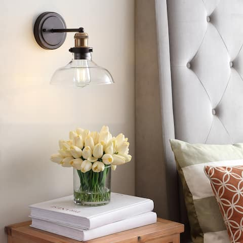 "Safavieh Lighting Hendrix LED Wall Sconce - 8""x10.3""x8.9"""