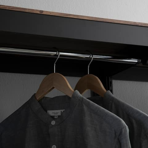 Aurora Home 1Hanger 1Shelf 1Door Customizable Shelving and Storage