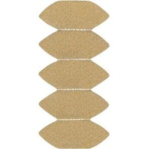 Black & Decker BDAMFT Mouse Fingertipl Sandpaper, 15/Pack
