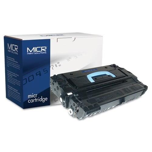 MICR Print Solutions 43XM MICR Toner Cartridge - Black 43XM High-Yield MICR Toner Cartridge