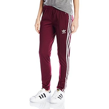 adidas Originals Women's Superstar Track Pant - Black/White