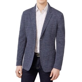 Michael Kors NEW Blue Mens Size Large L Slim Fit Two Button Blazer