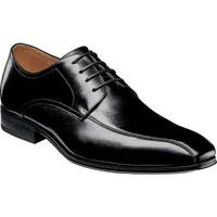 Florsheim Men's Corbetta Bicycle Toe Oxford Black Leather