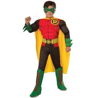Rubies Deluxe Robin Child Costume - Red (2 options available)