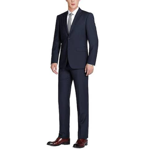 Men's 2-Piece Suit Two Button Modern Classic Fit Dress Suit For men
