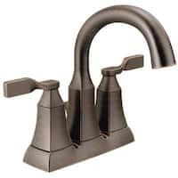 Delta 25766LF-RB Double Handle Lavatory Faucet, Venetian Bronze
