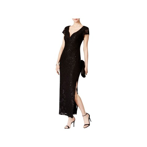Connected Apparel Womens Evening Dress Sweetheart Neckline Embellished
