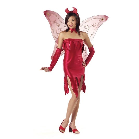 California Costumes Tinkerhell Teen Costume - Red - 3-5  sc 1 st  Overstock : teen fairy costumes  - Germanpascual.Com