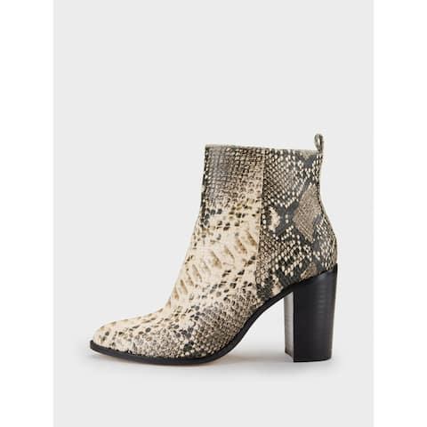 DKNY Womens Houston Closed Toe Mid-Calf Fashion Boots