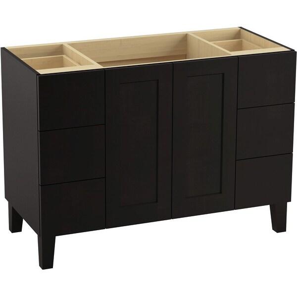 "Kohler K-99535-LG Poplin 48"" Vanity Cabinet Only"