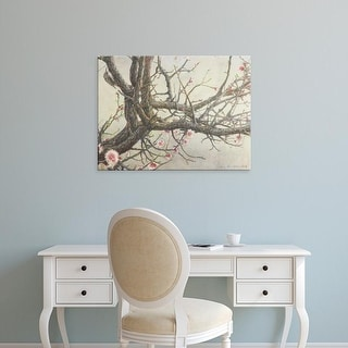 Easy Art Prints Chris Vest's 'Apricot Creeper' Premium Canvas Art