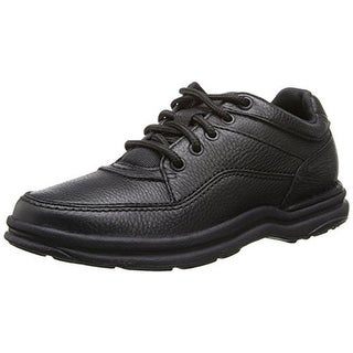 Rockport Mens World Tour Classic Leather Athletic Walking Shoes - 10 wide (e)