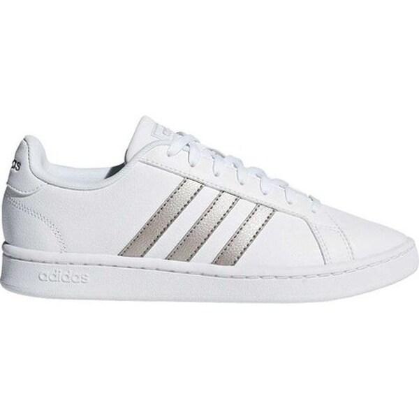 Shop adidas Women's Grand Court Sneaker FTWR White/Platin ...