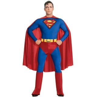 Rubies Superman Adult Costume - Solid