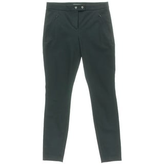 Theory Womens Adalwen Twill Stretch Skinny Pants