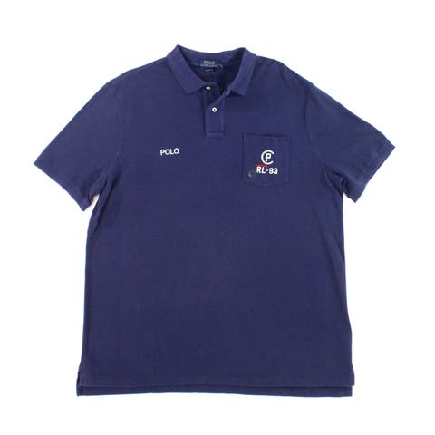f56d285f5 Polo Ralph Lauren Blue Mens Size XL Classic Polo Rugby Shirt