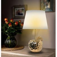 "KANSTAR 19""  Ceramic Apple Table Lamp"