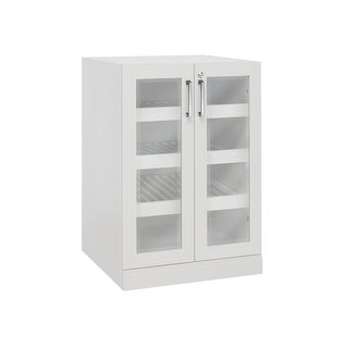 "NewAge Products Home Bar Series 24"" Display Cabinet"