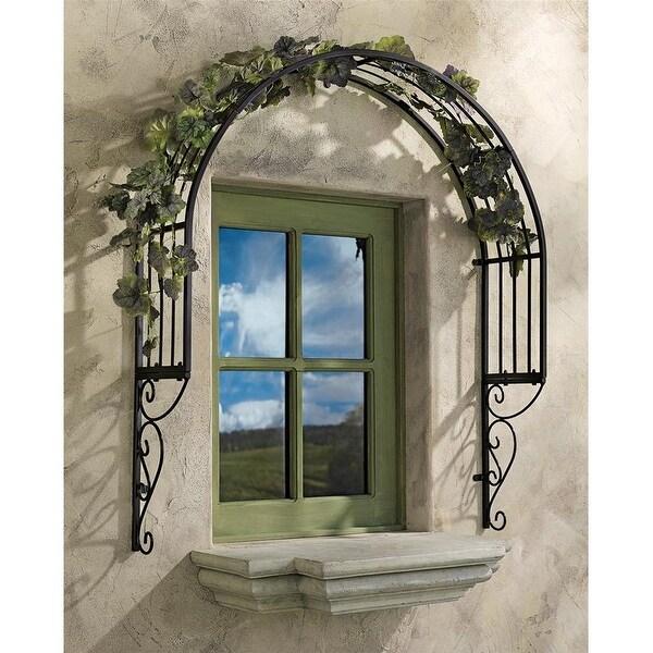 Design Toscano Thornbury Ornamental Metal Garden Window Trellis Set Of Two Free Shipping Today 21592484