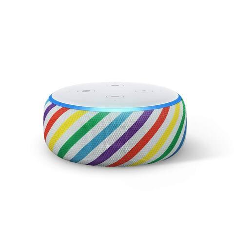 Amazon Echo Dot Kids Edition Smart Speaker with Alexa - Rainbow