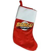 Big Bang Theory Bazinga Stocking