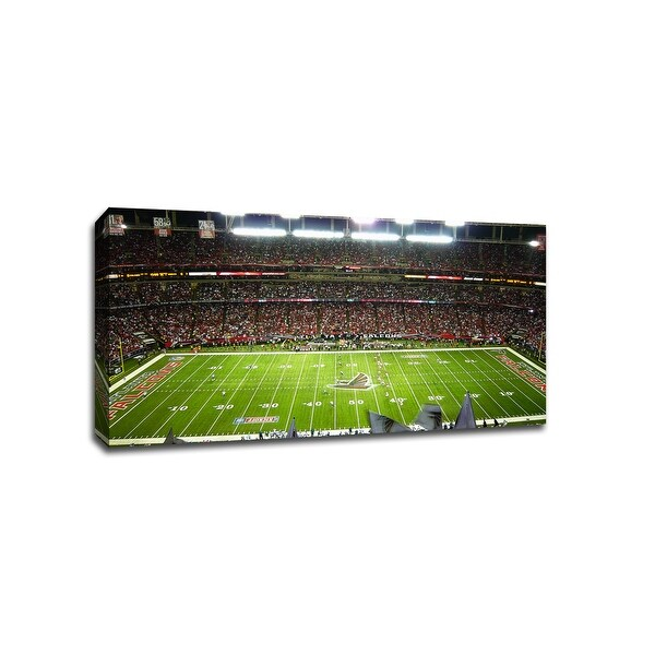 Atlanta - NFL - 36x20 Gallery Wrapped Canvas Wall Art