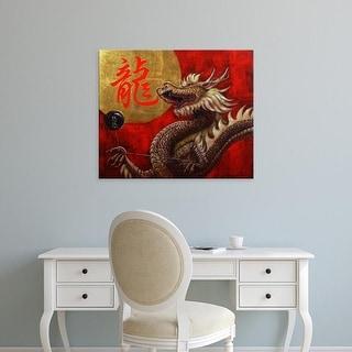 Easy Art Prints Lucia Heffernan's 'Yoyo Master' Premium Canvas Art