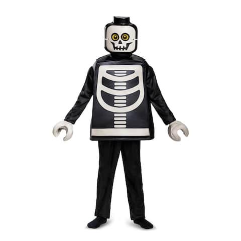 Kids LEGO Skeleton Deluxe Halloween Costume