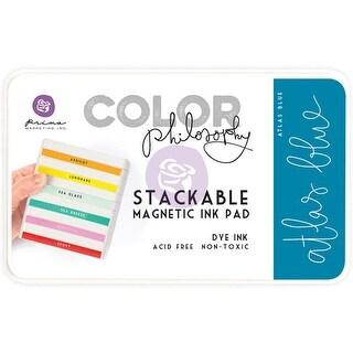 Prima Marketing Color Philosophy Dye Ink Pad-Atlas Blue