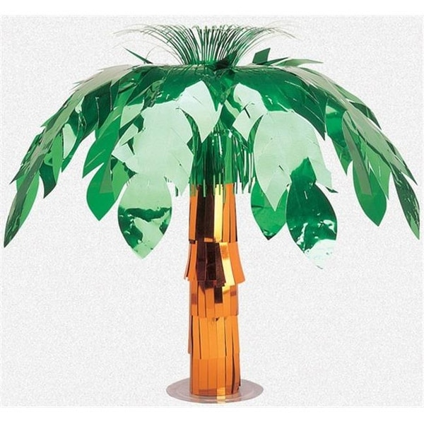 Amscan 24211 Foil Palm Tree Centerpiece 20 In Pack Of 6 Free Shipping Today 26369550