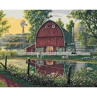 "Paint By Number Kit 16""X20""-Barnyard Memories"