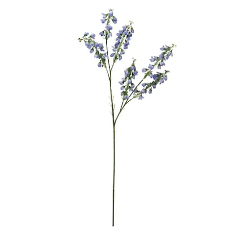 """27"""" Baby Blue Artificial Baby Blossom Inspired Floral Spray - N/A"""