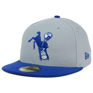 New Era Indianapolis Colts NFL Classic On Field 59FIFTY Cap - gray - 7.5