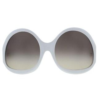Balenciaga Womens Designer UV Protection Oval Sunglasses