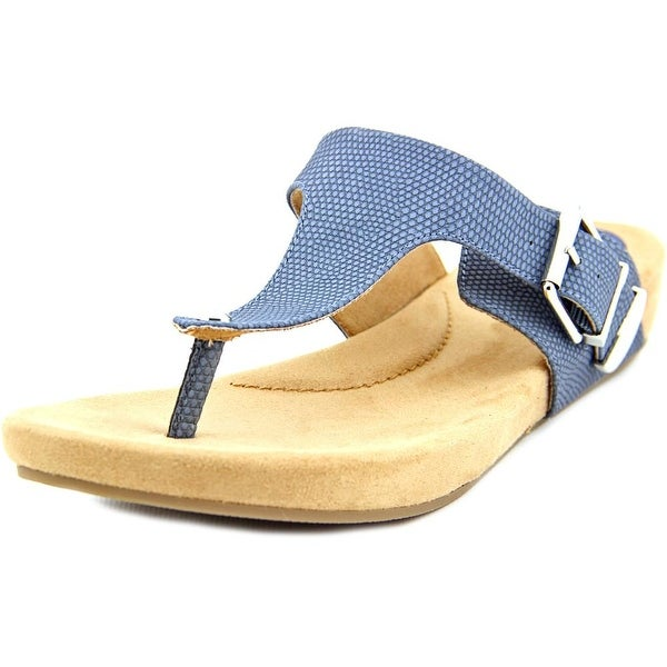 Giani Bernini Ryanne Women Open Toe Synthetic Blue Sandals