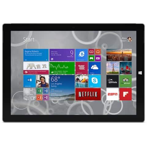 "Microsoft Surface Pro 3 256GB Intel Core i5-4300U X2 1.9GHz 12"", Silver (Certified Refurbished)"