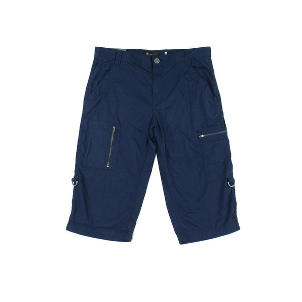 80bbd2ab424 Shop INC NEW Navy Blue Mens Size 30 Woven Foster Messenger Cargo Shorts -  Free Shipping On Orders Over  45 - Overstock - 20692516