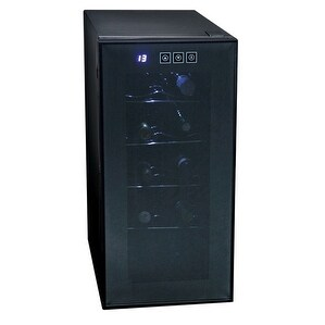 Koolatron KWT10BN 50W 85V Touch Control 10 Bottle Wine Cellar - Black