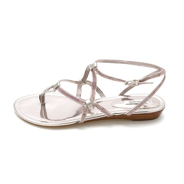 GUESS Womens Brendie 2 Open Toe Bridal Ankle Strap Sandals