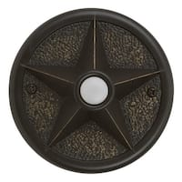 Craftmade PB3036 Surface Mount Star Pushbutton from the Designer Surface Collection