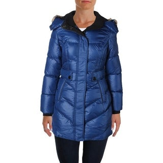 Noize Womens Kennedy Parka Hooded Faux Fur