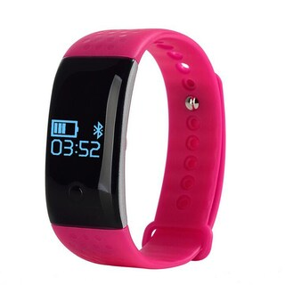TechComm MX350 Fitness Tracker with Heart Rate and Blood Oxygen Monitor