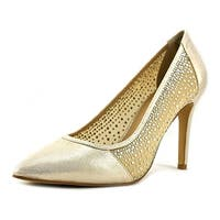 Thalia Sodi Womens Natalia2 Fabric Pointed Toe Classic Pumps