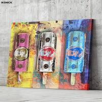 IKONICK Cold Hard Cash Canvas Art