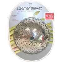 Good Cook 24972 Stainless Steel Steamer Basket