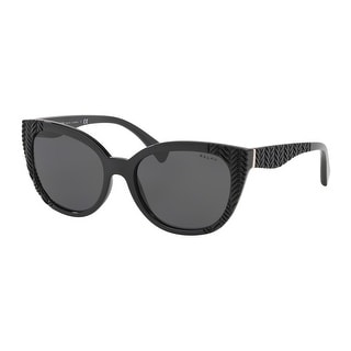 Link to Ralph RA5253 500187 56 Black Woman Butterfly Sunglasses Similar Items in Women's Sunglasses