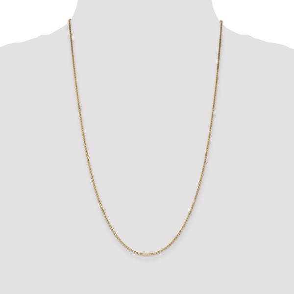1 Metre x 5mm Tarnish Resistant Gold Plated Anchor Link Chain #CTL009