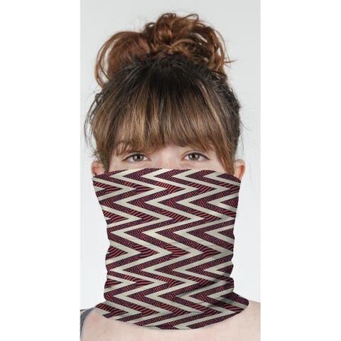 """ACRO RED Neck Gaiter By Becky Bailey - 10"""" x 18"""""""