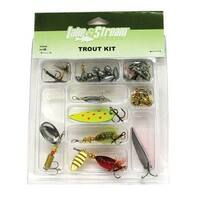 Lake & Stream Tackle Trout Kit, 68 Piece